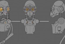 Skate Robot Blueprint